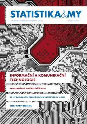 titulní strana časopisu Statistika&My 03/2014