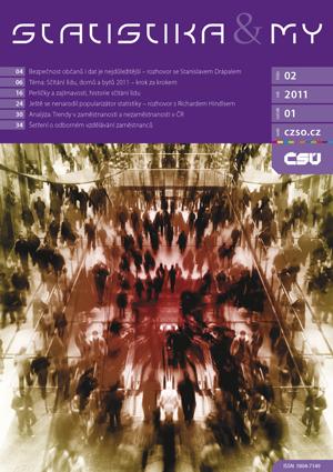 titulní strana časopisu Statistika&My 02/2011
