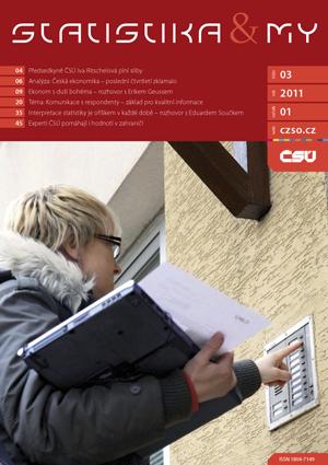 titulní strana časopisu Statistika&My 03/2011