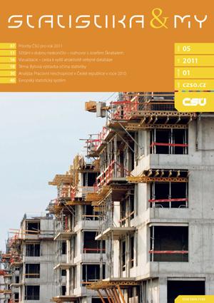 titulní strana časopisu Statistika&My 05/2011