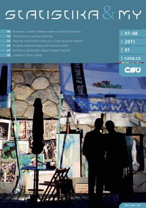 titulní strana časopisu Statistika&My 07-08/2012