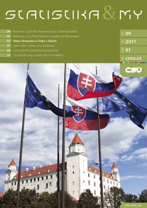 titulní strana časopisu Statistika&My 09/2011