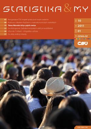 titulní strana časopisu Statistika&My 10/2011