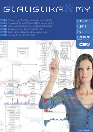 titulní strana časopisu Statistika&My 11-12/2011