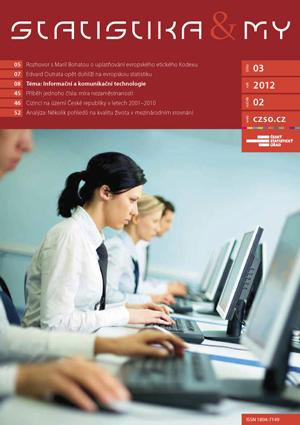 titulní strana časopisu Statistika&My 03/2012
