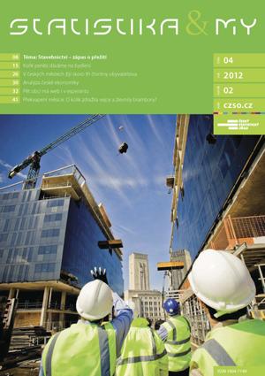 titulní strana časopisu Statistika&My 04/2012