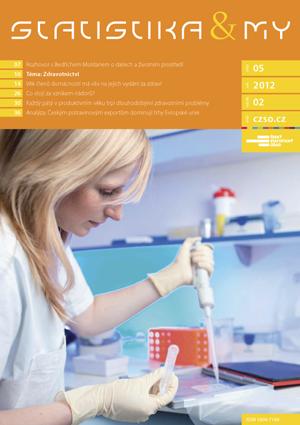 titulní strana časopisu Statistika&My 05/2012