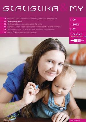titulní strana časopisu Statistika&My 06/2012