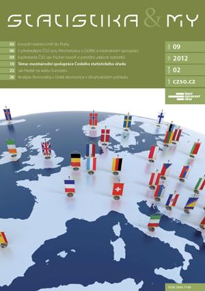 titulní strana časopisu Statistika&My 09/2012
