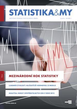 titulní strana časopisu Statistika&My 02/2013