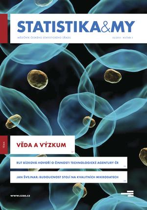 titulní strana časopisu Statistika&My 03/2013