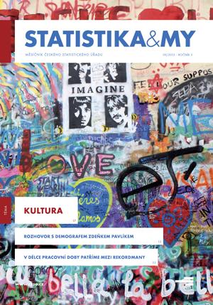 titulní strana časopisu Statistika&My 09/2013