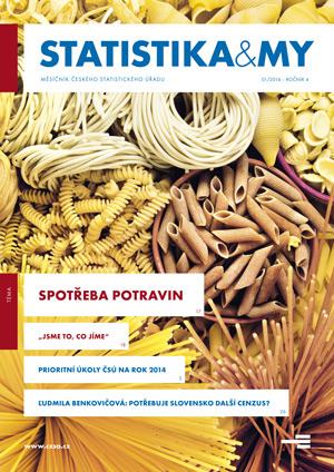 titulní strana časopisu Statistika&My 01/2014