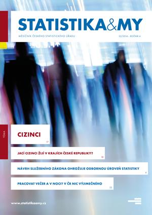 titulní strana časopisu Statistika&My 02/2014