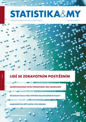 titulní strana časopisu Statistika&My 04/2014