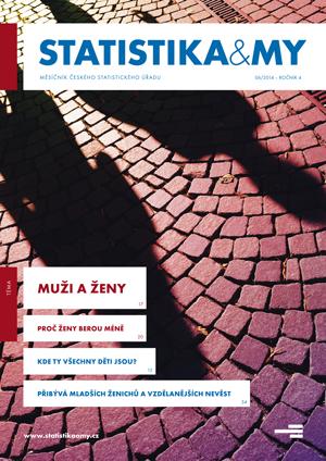 titulní strana časopisu Statistika&My 06/2014