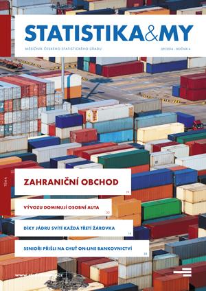 titulní strana časopisu Statistika&My 09/2014