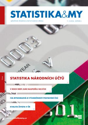 titulní strana časopisu Statistika&My 11-12/2014