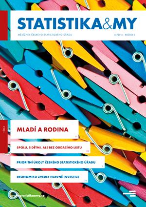 titulní strana časopisu Statistika&My 01/2015