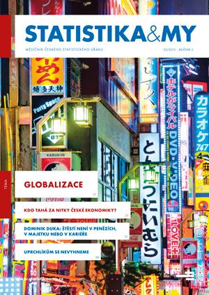 titulní strana časopisu Statistika&My 03/2015