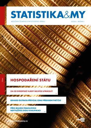 titulní strana časopisu Statistika&My 05/2015