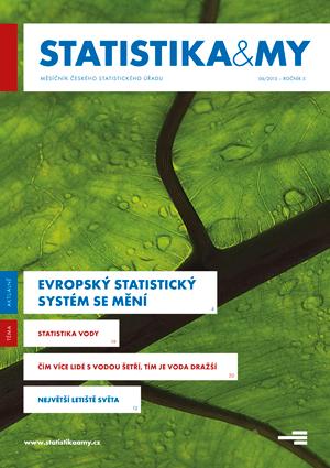 titulní strana časopisu Statistika&My 06/2015