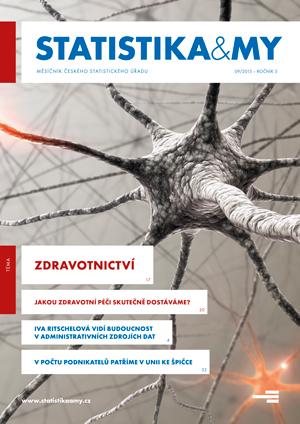 titulní strana časopisu Statistika&My 09/2015