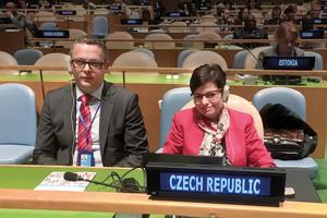 Předsedkyně ČSÚ  ve Statistické komisi OSN