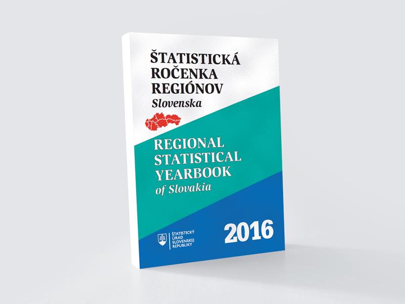 ŠÚ SR: Statistická ročenka regionů Slovenska 2016