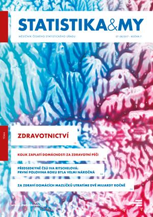 titulní strana časopisu Statistika&My 07-08/2017