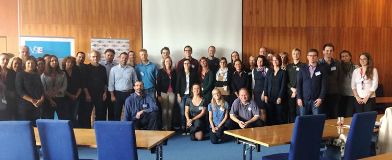 Společná fotografie účastníků workshopu.