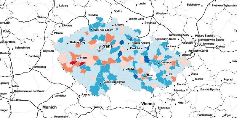 Český rozhlas: Kde přibývá turistů akam přestávají jezdit?