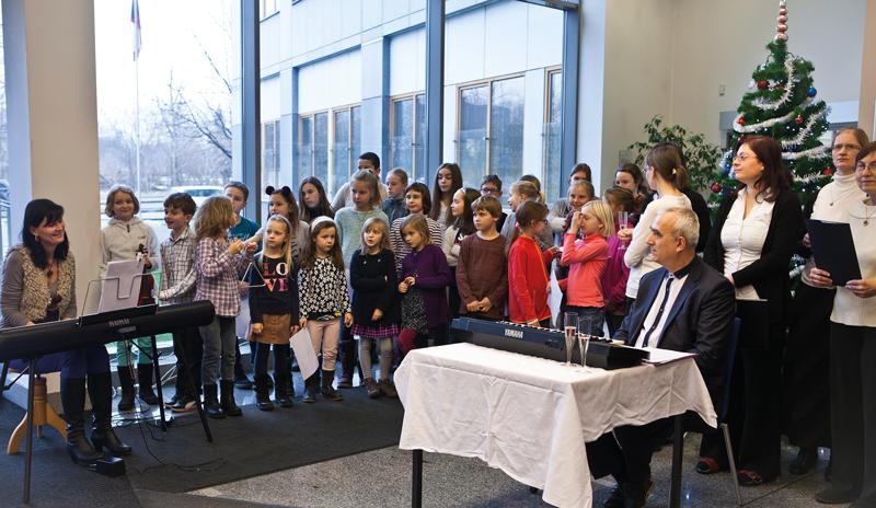 Dětský pěvecký sbor Základní školy VRybníčkách