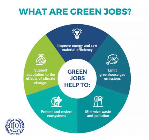 """ILO: Co je to """"zelená práce""""?"""
