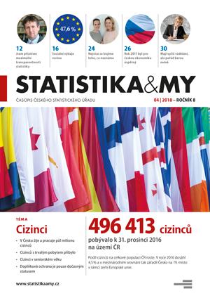 titulní strana časopisu Statistika&My 04/2018