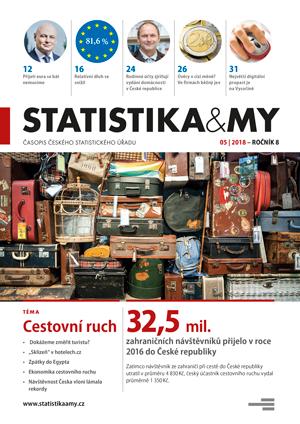 titulní strana časopisu Statistika&My 05/2018