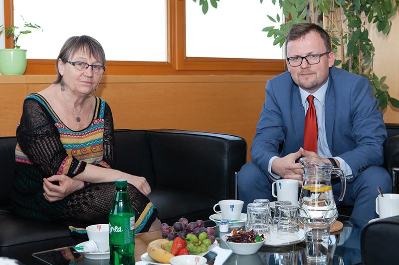 Ombudsmanka Anna Šabatová projevila zájem odata ozdravotně postižených.