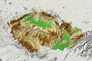 Se čtyřmi vojenskými újezdy je vČR 6258 samosprávných obcí