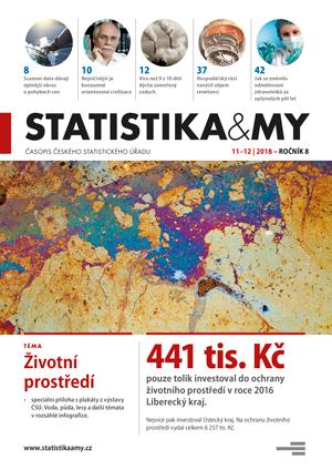 titulní strana časopisu Statistika&My 11-12/2018