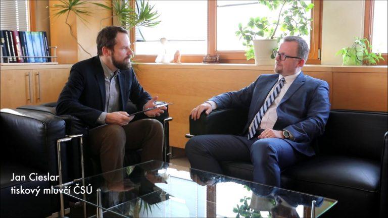 Ing. Marek Rojíček, Ph.D., předseda ČSÚ, rozhovor