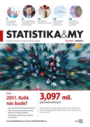 titulní strana časopisu Statistika&My 02/2019