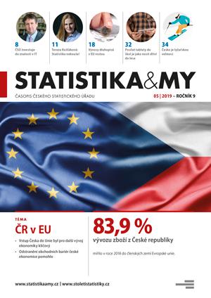 titulní strana časopisu Statistika&My 05/2019