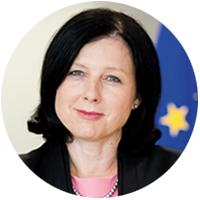 Věra Jourová: Kdo žije vEvropě,  má skvělou adresu