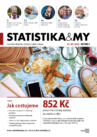 titulní strana časopisu Statistika&My 07-08/2019