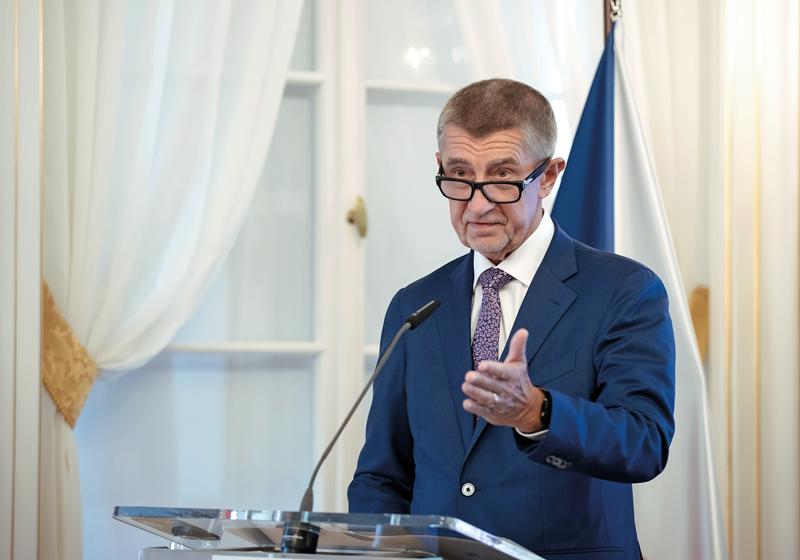 Předseda vlády ČR Andrej Babiš