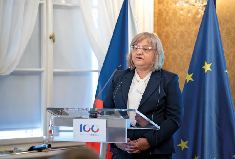 Generální ředitelka Eurostatu Mariana Kotzeva