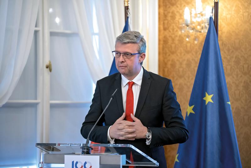Místopředseda vlády ČR Karel Havlíček