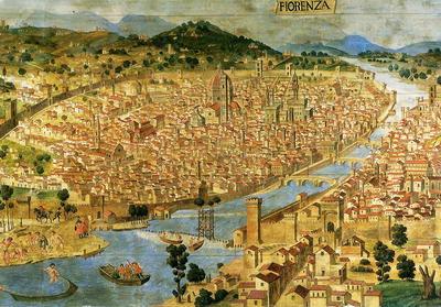 Už ve středověku měla Florencie více než 100 tisíc obyvatel.