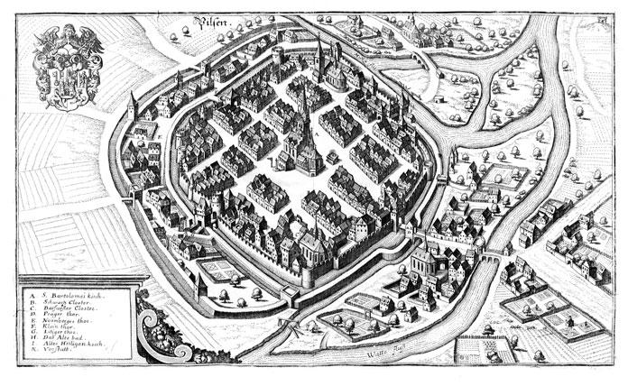 Údaje o královských a poddanských městech a jejich obyvatelích v Berní rule nenajdeme.
