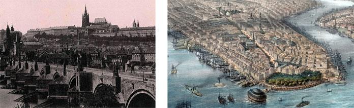 Statistická kancelář Královského hlavního města Prahy vznikla jen o několik let později než např. statistická kancelář města New York.